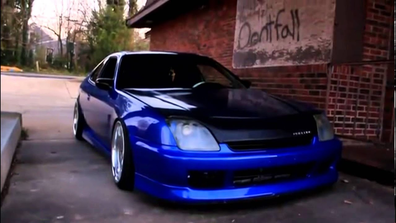 Girl And Sport Car Wallpaper Sexy Candy Blue Honda Prelude My Friends Car Youtube