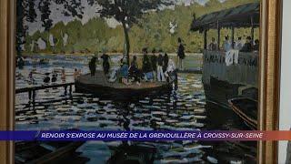 Yvelines | Renoir s'expose au musée de la Grenouillère à Croissy-sur-Seine