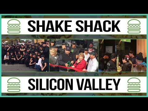 Shake Shack Grand Opening - Stanford Shopping Center - Palo