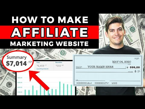 How To Create An Affiliate Marketing Website For Beginners🔥 [MAKE MONEY ONLINE]🔥