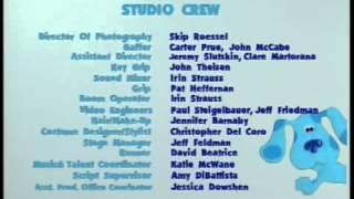 Blues Clues Blues Big Holiday VHS Closing Credits