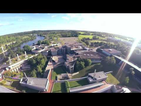 Trent University Aerial Tour In Peterborough, Ontario