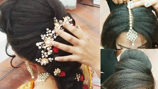 Baixar different  party & wedding hairstyle // 2019  for girls// step by step  easy hairstyle