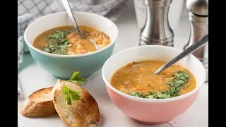 Суп ЛОБИО Постный суп с фасолью