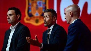Así fue la presentación de Luis Enrique como seleccionador | MARCA