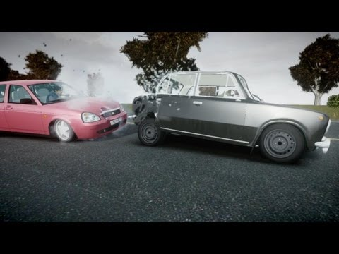 Подборка ДТП 2013 - GTA 4 (Car crash compilation) в HD