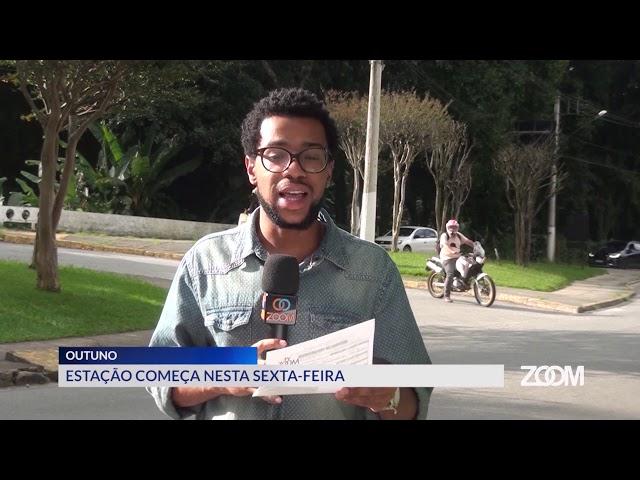 19-03-2020 - OUTONO COMEÇA NESTA SEXTA FEIRA - ZOOM TV JORNAL