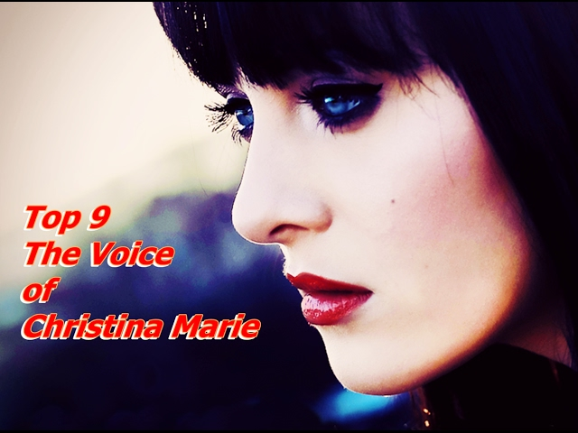 Top 9 The Voice of Christina Marie