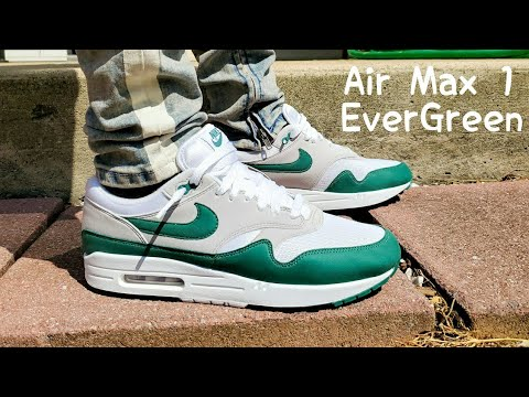 Air Max 1 EverGreen 2020 Unboxing & On Feet