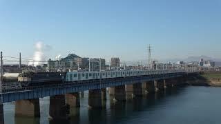 西武鉄道40000系甲種輸送 平塚~茅ヶ崎2019/12/14
