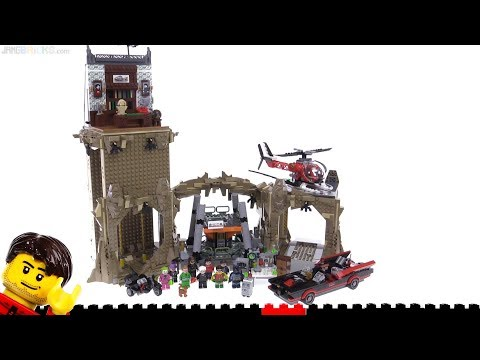 Flashback Build ⏩ LEGO Batman Classic TV Batcave From 2016 - Set 76052