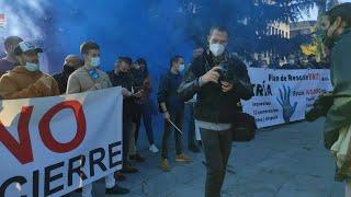 Hosteleros se concentran en Oviedo