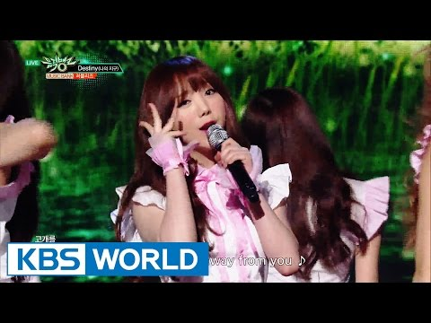 Lovelyz - Destiny | 러블리즈 - 나의 지구 [Music Bank / 2016.06.03]