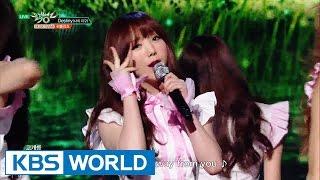 Lovelyz - Destiny | 러블리즈 - 나의 지구 [Music Bank / 2016.06.03]