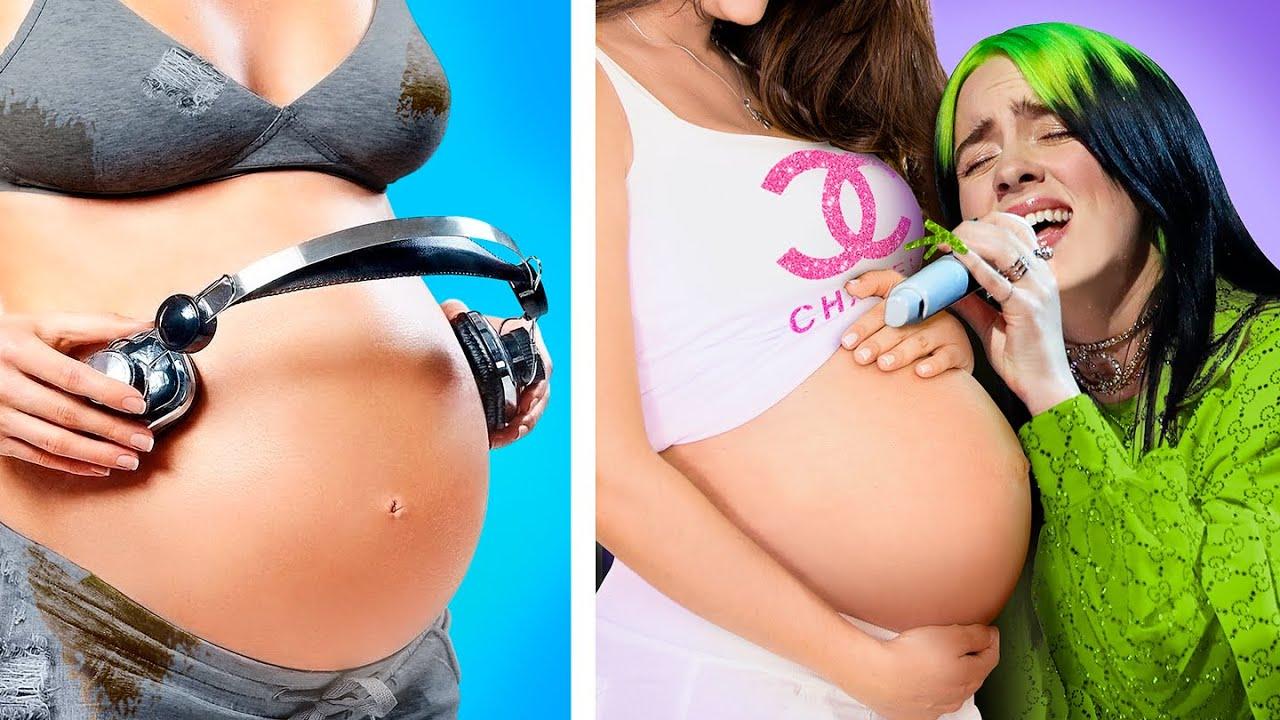 Богатая беременная vs Бедная беременная