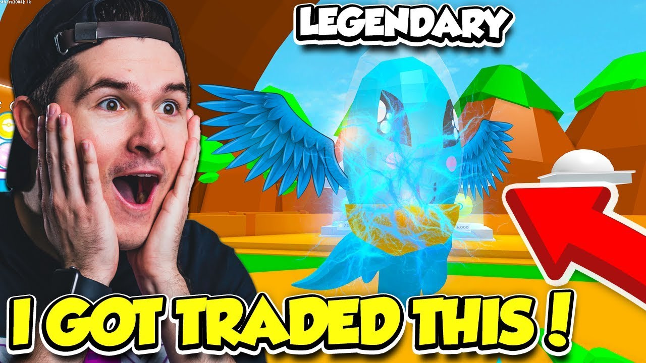 He Traded Me The LEGENDARY PETS In PET TRAINER And Then THIS HAPPENED... (Roblox)