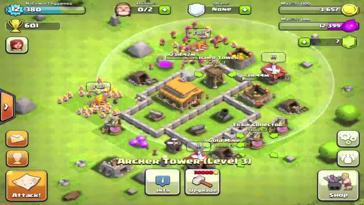 Clash Of Clans Base Lvl 25
