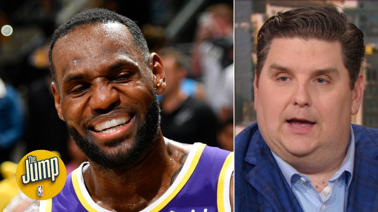 LeBron would never say it, but he'd love to average a triple-double - Brian Windhorst | The Jump