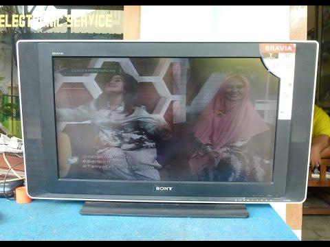 Memperbaiki Tv Lcd Sony 32 Inci Rusak Warna Gambar Bermasalah