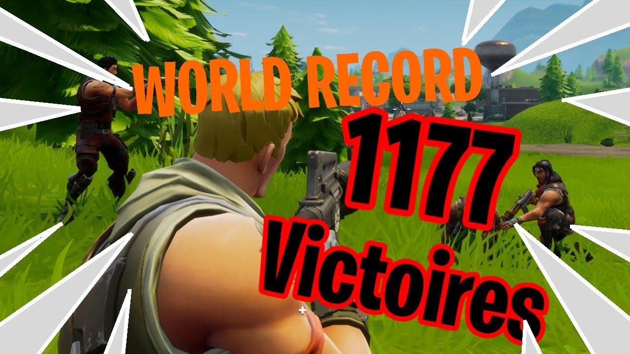 fortnite classement top 10 victoire en section world record fr - fortnite classement pc