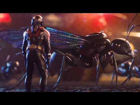 Escaping The Police Station Scene - ANT-MAN (2015) Movie Clip