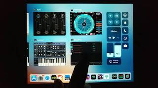 AUM and Chordflow Pattering Sunrizer, Cassini and Arctic pro synth