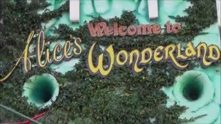 Alice in Wonderland Ride - Blackpool Pleasure Beach - On Ride POV