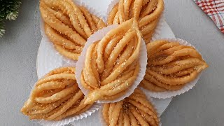 Delicious traditional algerian sweet (Ingredients in description box)