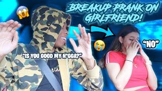 BREAK UP PRANK ON GIRLFRIEND ( GONE TOO FAR) *EMOTIONAL*