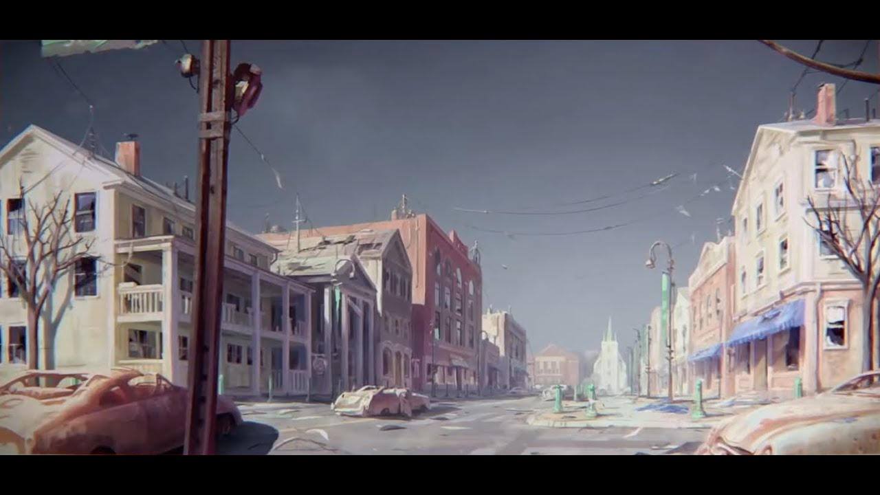 Fallout 4 Concept Art E3 2015 All Wallpapers