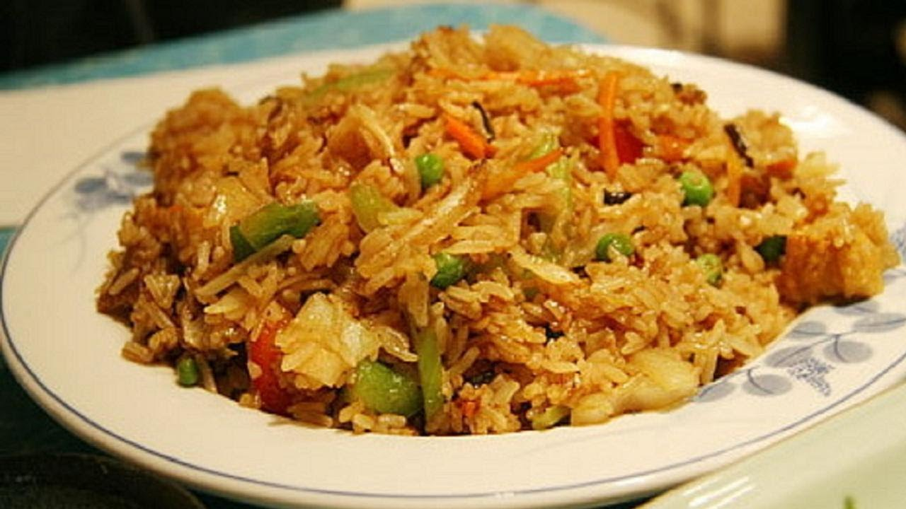 Indo chinese vegetable fried rice fusion youtube ccuart Image collections