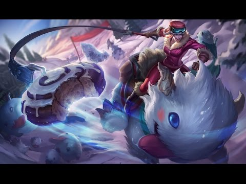 Poro Rider Sejuani Skin Spotlight Gameplay - League of Legends