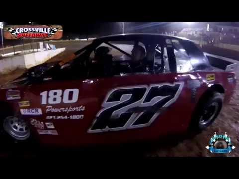 #27T Justin Turner - Super Street - 10-8-16 - Crossvile Speedway - In-Car Camera