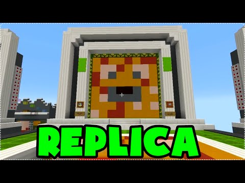 Minecraft: REPLICA! A MELHOR CONSTRUTORA! ft. Marcio, Cah