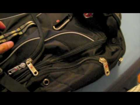 SwissGear Backpack Impressions - YouTube