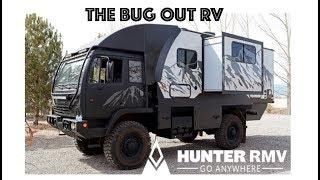 BUG OUT RV!!! : Off Grid 4x4 diesel military grade RV by Hunter RMV