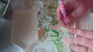 diamond painting / china mail ( loom band tool + big trays) and sadly run out of drills