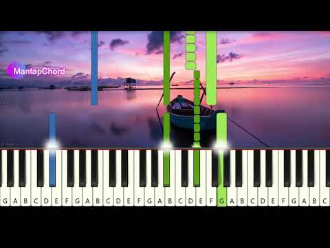 COLDPLAY - FIX YOU - Very Easy Piano Tutorial MantapChord