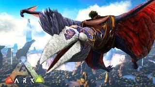 ARK: Survival Evolved -  QUETZAL TAMING!! (ARK Ragnarok Gameplay)