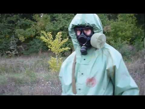 03 Russian hazmat suit OZK and gas mask PMK 1