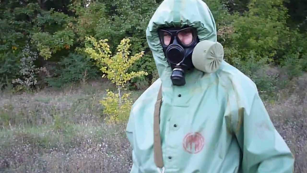 03 russian hazmat suit ozk and gas mask pmk 1 youtube