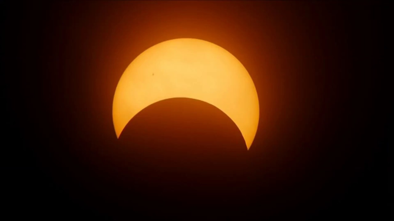 Jak wyglądało Zaćmienie Słońca 2017 z kosmosu? Nagranie…