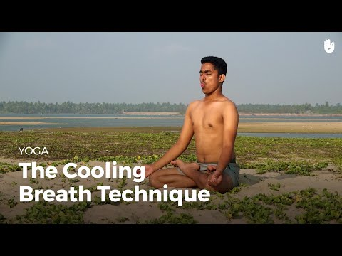 Learn the Cooling Breath Technique Sitali Pranayama | Yoga