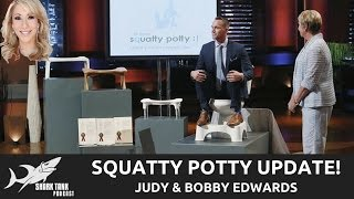 Squatty Potty Shark Tank Update! Interview with Judy and Bobby Edwards