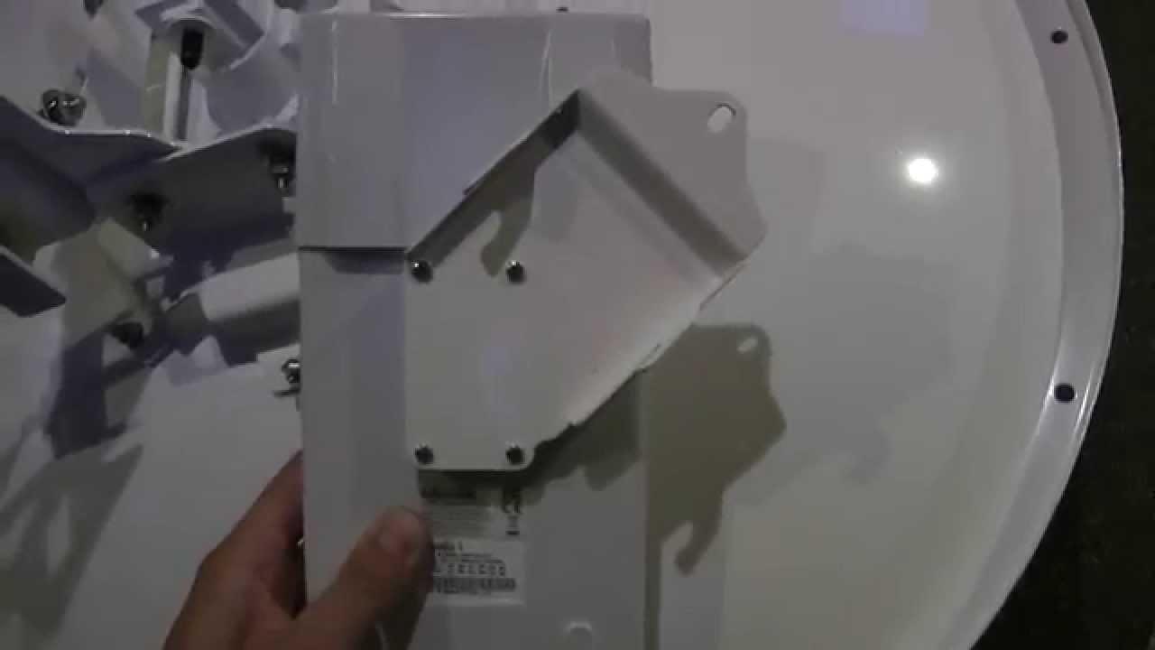 MikroTik mANT30 PA parabolic dish antenna 5GHz 30dBi MTAD-5G-30D3-PA