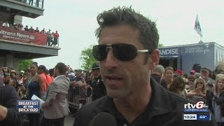 Patrick Dempsey talks Indianapolis, and the race