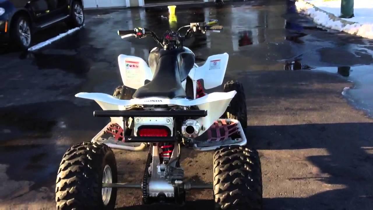 2007 Honda Trx450er Youtube