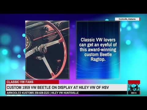 Custom Classic VW Beetle on Display at Hiley VW Huntsville