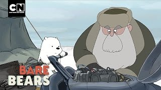 We Bare Bears | Baby Ice Bear's Survival Skills | Cartoon Network