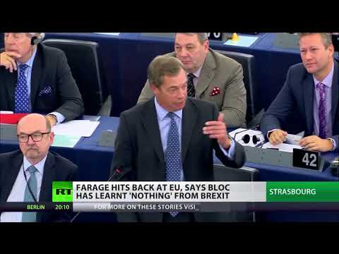 "Farage to Juncker: ""Thank God we're leaving!"""